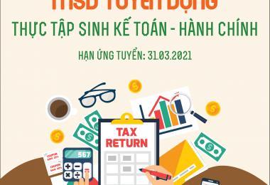 MSD tuyển dụng vị trí Thực tập sinh Kế toán – Hành chính 2021