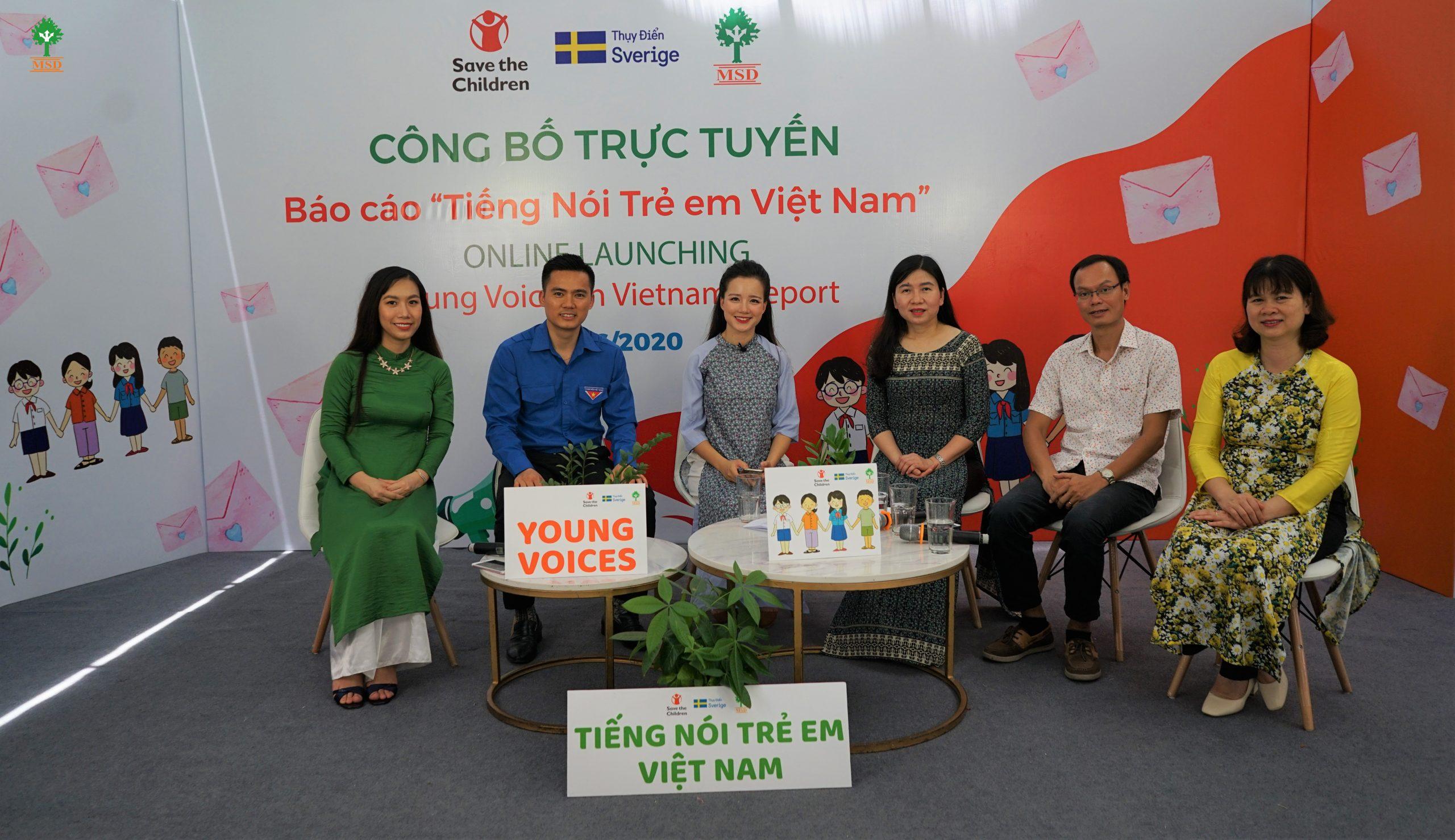 TCBC: Công bố Báo cáo Khảo sát Tiếng nói Trẻ em Việt Nam