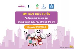 """TCBC: Chiến dịch """"Hành động ngay cùng GBVNet bảo vệ trẻ em khỏi xâm hại tình dục"""""""