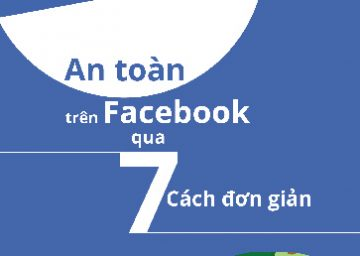 """Sổ tay """"An toàn trên Facebook qua 7 cách đơn giản"""""""
