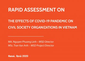 Báo cáo khảo sát nhanh Ảnh hưởng của đại dịch COVID-19 đến hoạt động của các tổ chức xã hội Việt Nam
