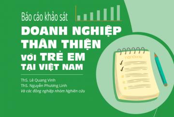 Báo cáo Doanh nghiệp thân thiện với trẻ em tại Việt Nam