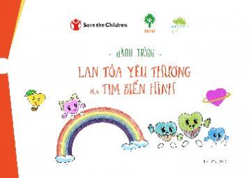 Hành trình Lan toả yêu thương của Tim biến hình (bản dành cho trẻ em)