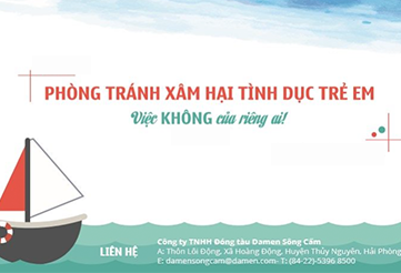 Dự án Phòng chống xâm hại tình dục (XHTD) trẻ em tại địa bàn Xã Lâm Động, Huyện Thủy Nguyên, TP. Hải Phòng