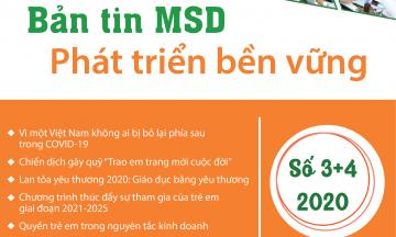 Bản tin MSD phát triển bền vững – Quý 3&4 năm 2020